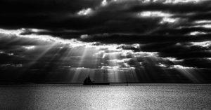 nr 20 - Lisbeth Larsen -Skib i lyssøjler