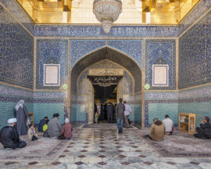 nr 19 Evelyn P Fiig-moskeen i Qom