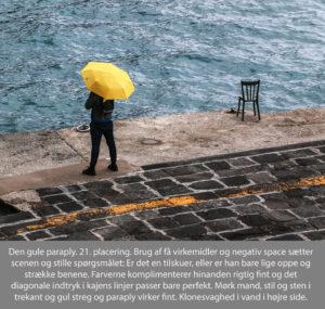 nr 21 Lisbeth Larsen-Den gule paraply