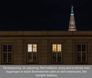 nr 24 Lisbeth Larsen-Tårnbelysning