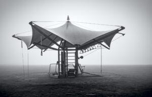 nr 3 Brian Jørgensen-Stativ i tågen