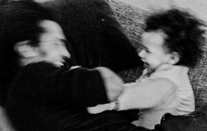 nr 8 Ove Lyngsie-Lege med far
